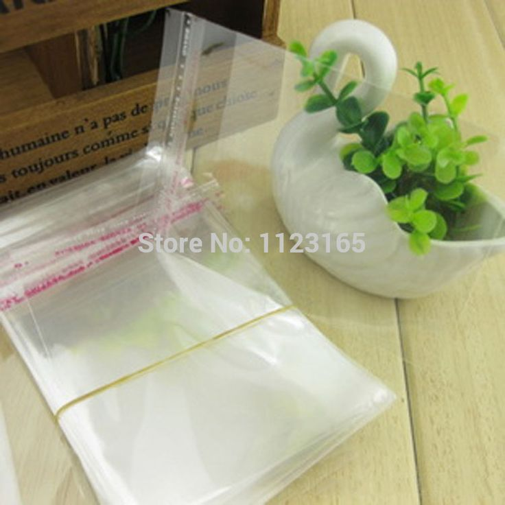100pieces/lot,33 x 33cm Self Adhesive Seal OPP bags-Clear plastic pouches,Glue tape sealing reclosable T-shirt sack Gift packing #Affiliate