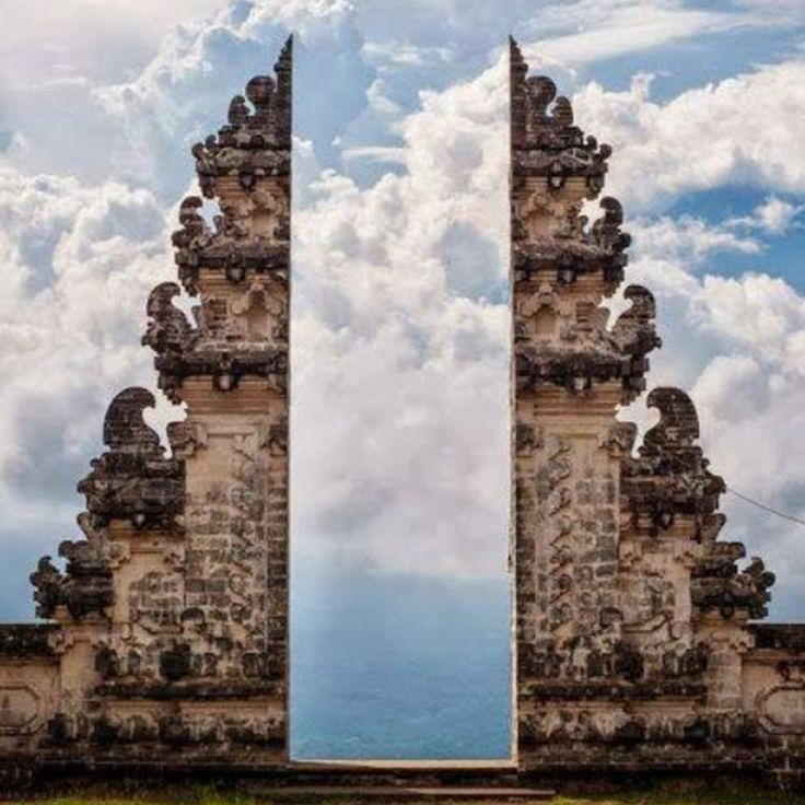Doorgate to Heaven sanctuary. Lempuyang Temple, Bali