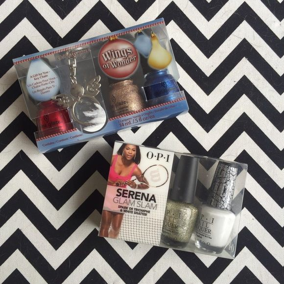 new China Glaze OPI nail polish lot sets Two brand new nail polish sets from China Glaze & OPI.   These have never been opened or tested. Makeup