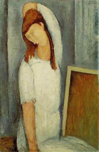 Amedeo Modigliani Jeanne Hebuterne