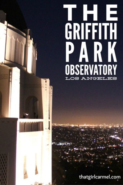 Taking in the views at the Griffith Park Observatory in Los Angeles