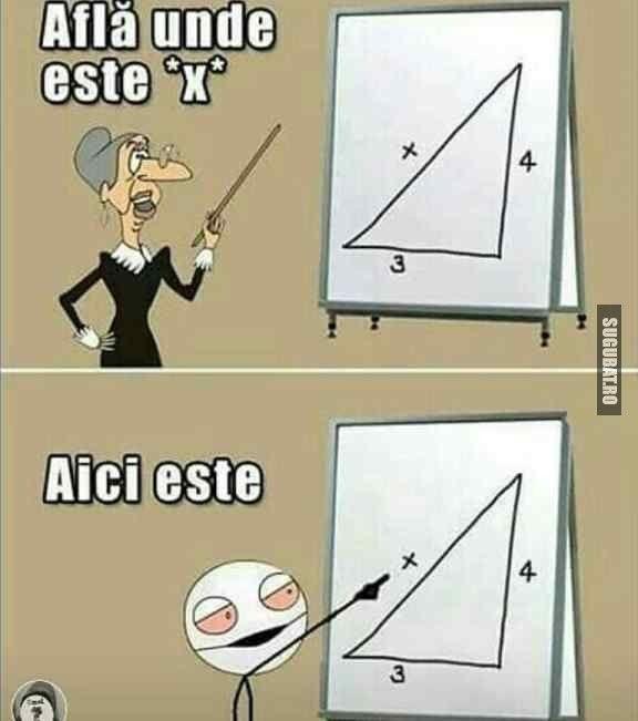 Acel moment cand la matematica ti se pare ca stii raspunsul