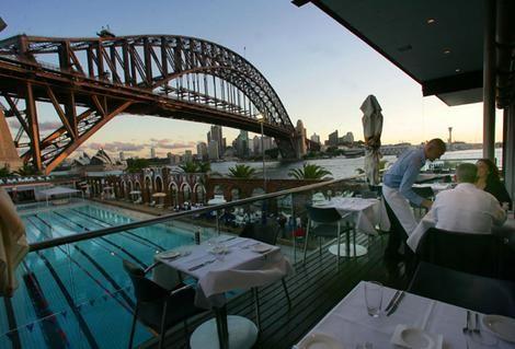 Aqua Dining - a favourite Sydney restaurant
