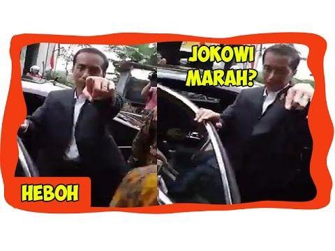 Iring-iringan Kepresidenan Melintas, Tiba-tiba Mobil Pak Jokowi Berhenti...