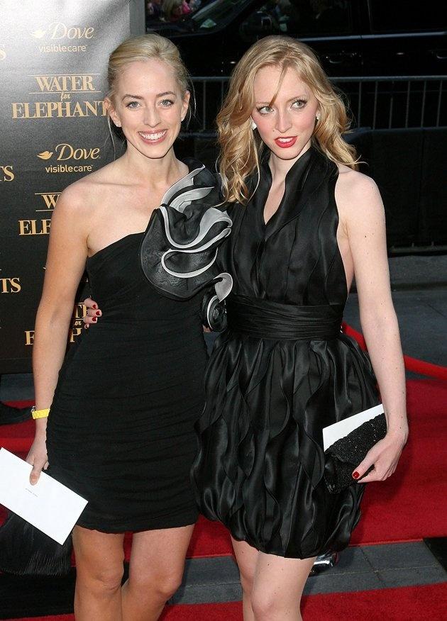 Lizzy Pattinson and Victoria Pattinson