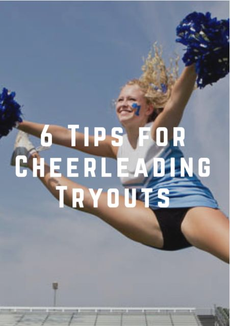 Use these tips to calm the nerves for cheerleading tryouts. 6 Tips for Cheerleading Tryouts http://www.activekids.com/cheerleading/articles/6-tips-for-cheerleading-tryouts