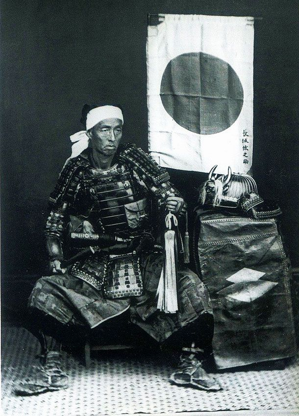 Powerful Vintage Photographs Of Japanese Samurai Warriors. Samurai de verdad.