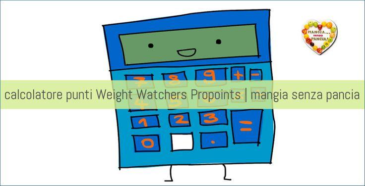 Un semplice calcolatore punti Weight Watchers Propoints che permette di calcolare i punti degli alimenti da inserire nel proprio diario alimentare.