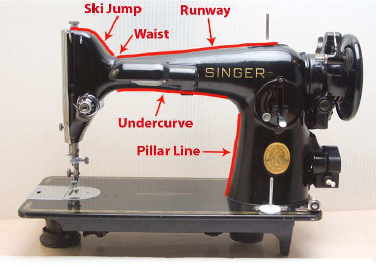 The Vintage Singer Sewing Machine Blog: A Visual Guide to Identifying Singers from Crappy Craigslist Photos, Part 1