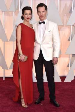 Less than two weeks after Benedict Cumberbatch married actress and theater director Sophie Hunter on the Isle of Wight in their native United Kingdom on Valentine's Day 2015, the couple hit the red carpet at the 2015 Oscars. They welcomed their first child, son Christopher Cumberbatch, in May 2015.