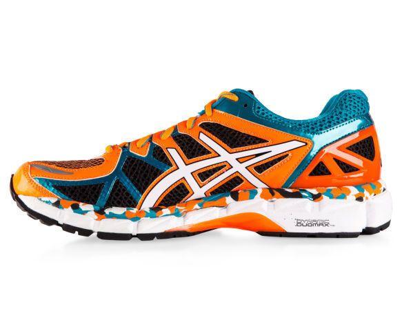 ASICS Men s GEL-Kayano 21 Shoe - Black/White/Capri Breeze-