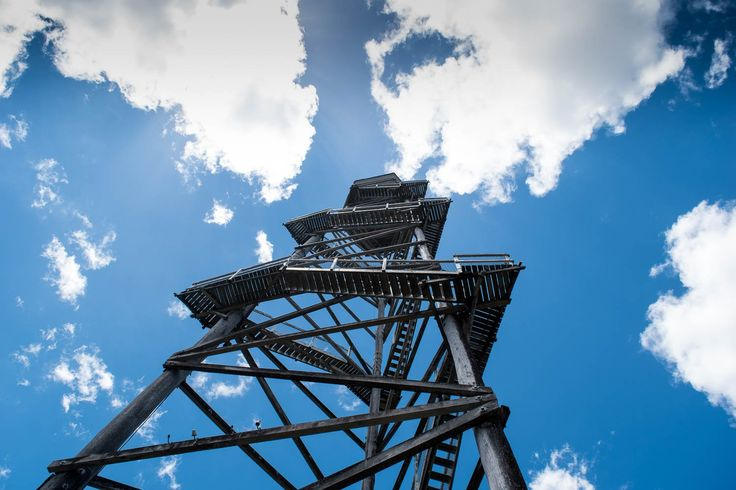 Photographing towers - any kind of towers can be rather compelling. They make excellent photo subjects.