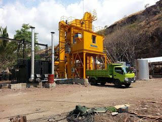 Asphalt Mixing Plant Lokasi Flores | BUKAKA - Road Construction Equipment | www.rce-bukaka.com