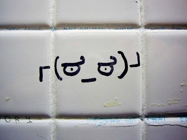 Men's washroom in library, April 30 2009 via Paul Joseph