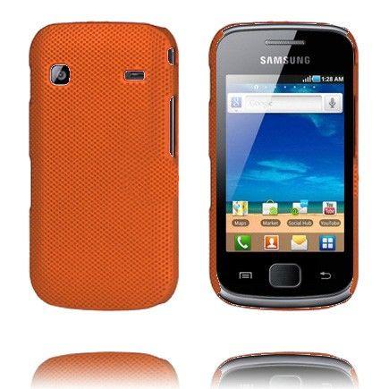 Supreme (Oranssi) Samsung Galaxy Gio Suojakuori