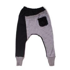 hot style Casual Knit Girls Boys skinny Cute Kids Toddlers Leggings Harem Pants