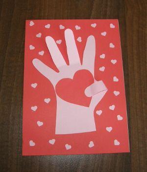 Valentínsky darček - srdce v dlani