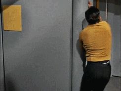 How Captain Kirk reacts in a crisis.