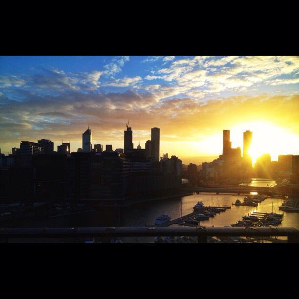 Good morning Melbourne! #melbourne #australia #travel