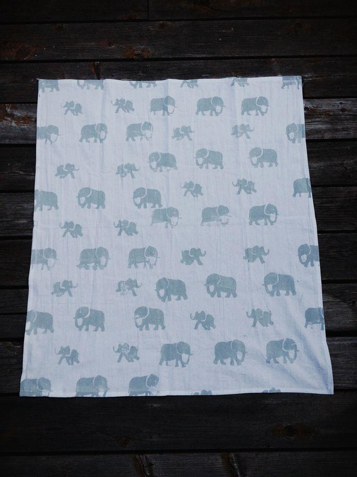 elephant kitchen towel