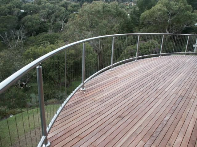 Vertical Balustrading | Low Cost Wire | Stainless Steel Wire, Steel ...