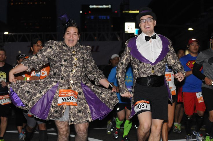 Steampunk Formal Halloween Running Costumes, Rock 'n' Roll Los Angeles Half Marathon 2016, Costume Run