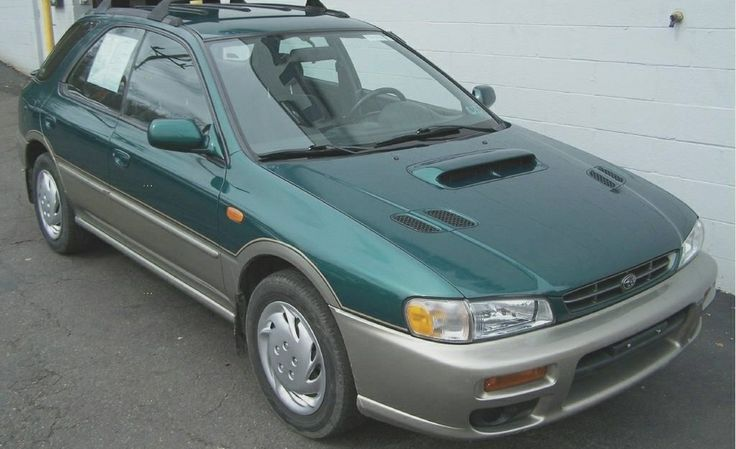 Base.  Stock 2000 Subaru Impreza OBS Wagon 2.2 142 HP @5600rpm 5.7inches ground clearance AWD 5-speed transmission.  A lost legend.