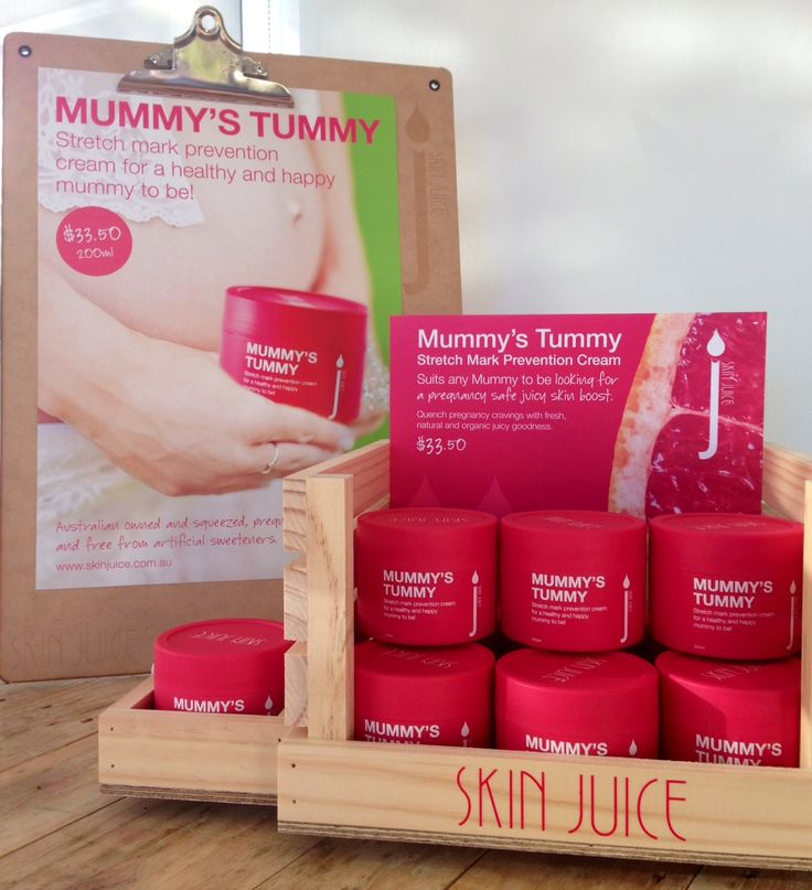 A crate of Mummy's Tummy with display poster and tester, available for healthy stockists Australia wide.
