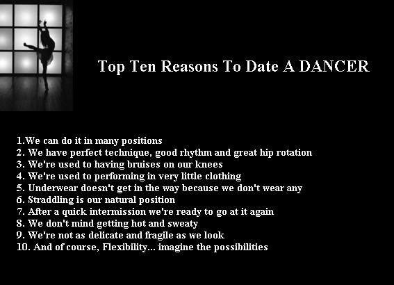 Dating a dancer quotes