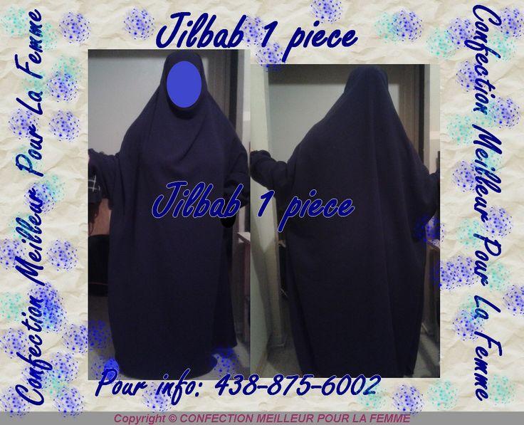 jilbab un piece