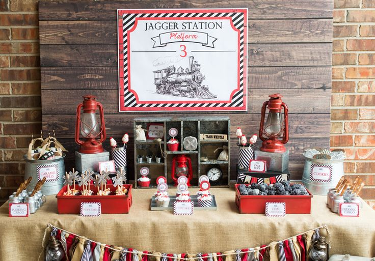 Vintage Train Party {Sneak Peek}