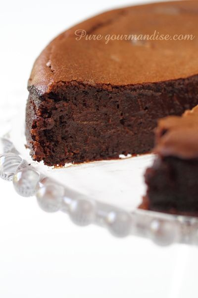 Fondant à la crème de marrons et au chocolat - www.puregourmandise.com