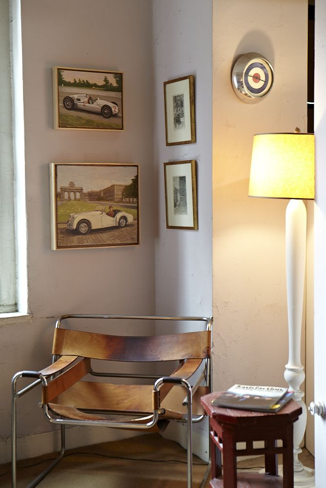 chair: Duncanhannah, Lounges Chairs, At Home, Wassily Chairs, Racing Cars, Floors Lamps, Chrome Chairs, Leather Chairs, Unique Chairs
