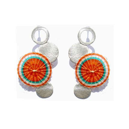 Crin, Chile, earrings