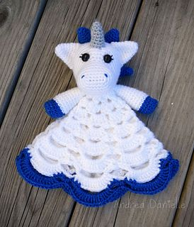 AndreaDanielle's Nuru the Unicorn Lovey Project