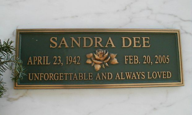 """Sandra Dee (1942 - 2005) Starred in """"Gidget"""", """"A Summer Place"""", and other """"teen"""" movies, known for her celebrity marriage to Bobby Darin"""