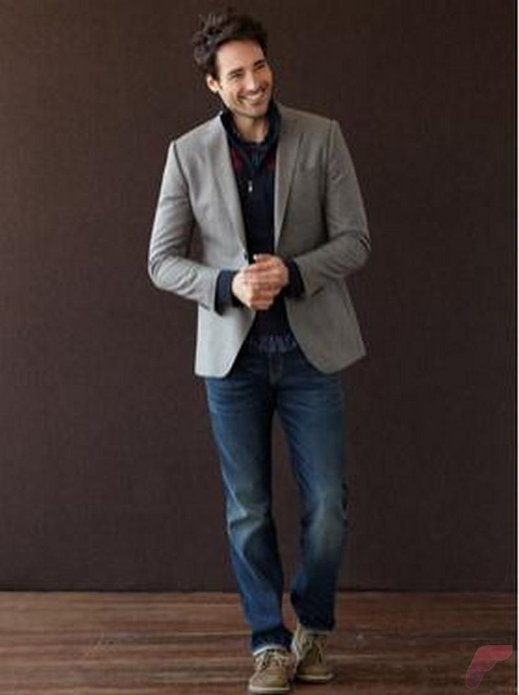 Men sport coat with jeans (50)