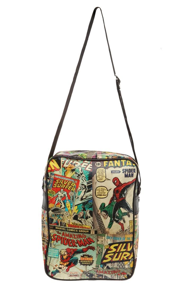 Marvel Comics Heroes Flight Bag | Hot Topic