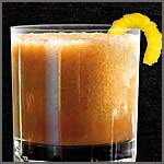 Bourbon Slush  Ingredients  2 cups Jim Beam® Bourbon  1 large can frozen orange juice  1 large can frozen lemonade  1-1/2 cups sugar  2 cups hot water with 4 tea bags  8 cups boiling water      Preparation  Remove tea bags. Mix all and freeze. Make ahead at least 24 hours. To serve, scoop into glass and add a small amount of lemon-lime soda to make slushy