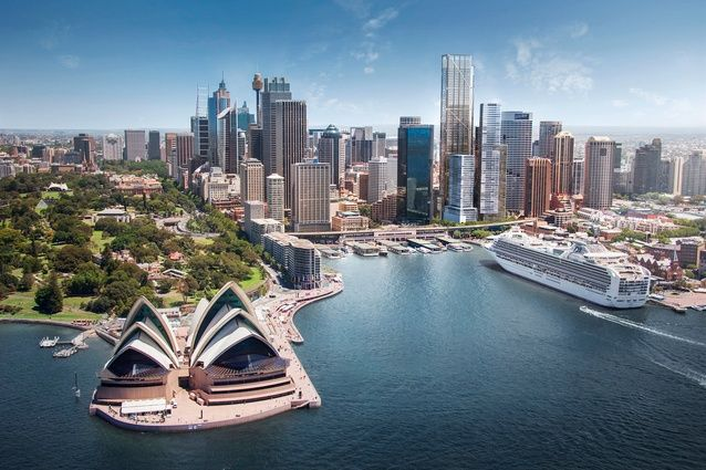 Lend Lease has appointed Foster and Partners to design a 263-metre-tall office tower in Sydney's Circular Quay.