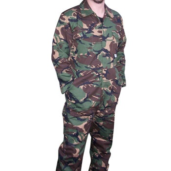 NEW! Castle Camouflage Stud Front Overalls, www.safetyandworkwearstore.co.uk
