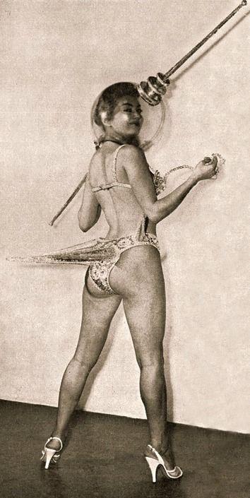 Miss Sputnik, c.1950s