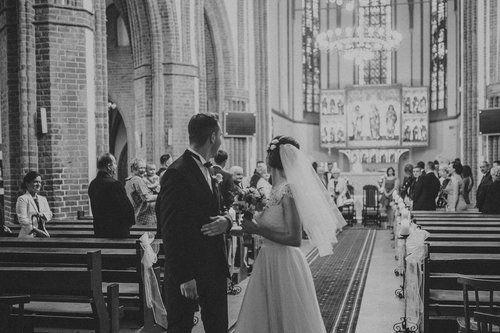 Destination wedding photographers / Emilia and Valentin Wedding photography Warsaw Wedding church ceremony