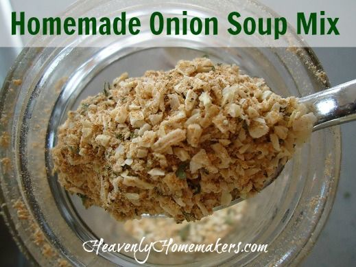 Homemade Onion Soup Mix (with No MSG!)
