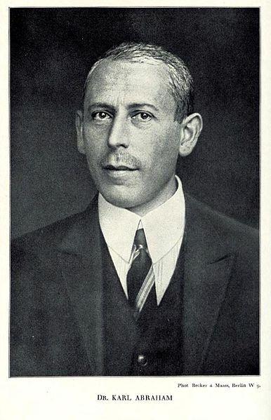 Karl Abraham : Brême 1877-Berlin 1925. Psychanalyste allemand.