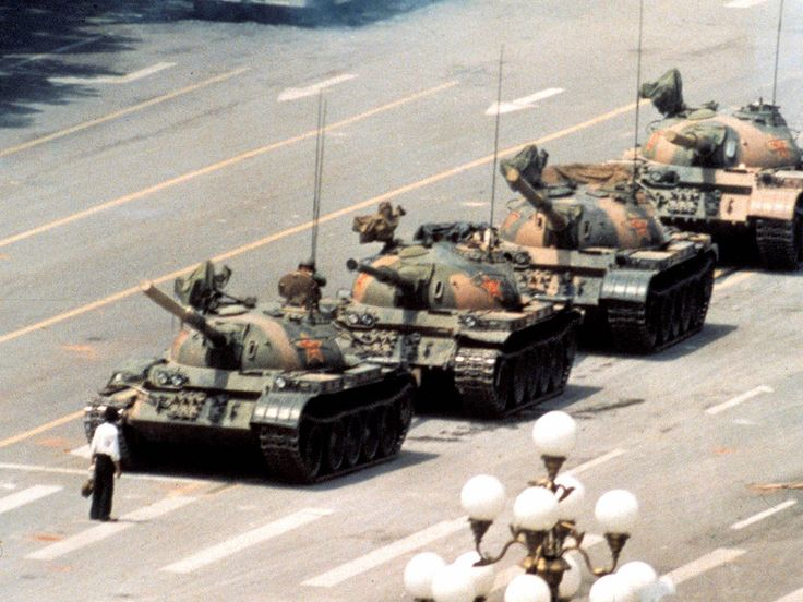 "Today marks the 25th anniversary of one of the worlds most known photos. ""Tank Man"", June 5th 1989, Tiananmen Square.  More."