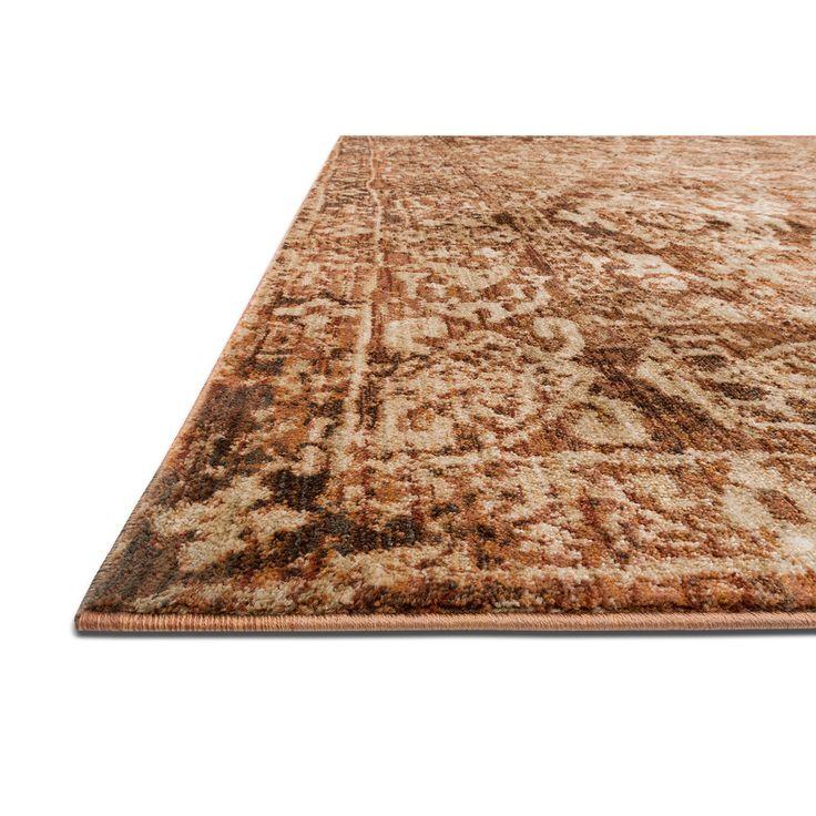 Kivi 10' x 13' Rug - Sand and Copper | Value City Furniture