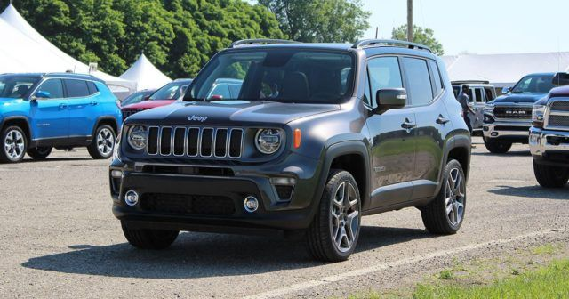 2019 Jeep Renegade Got A New Face And A New Turbo Engine Jeep