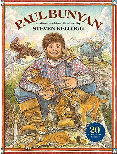 Paul Bunyan (Reading rainbow book) by Steven Kellogg http://www.amazon.com/dp/0688058000/ref=cm_sw_r_pi_dp_afcmwb0YV8BVB