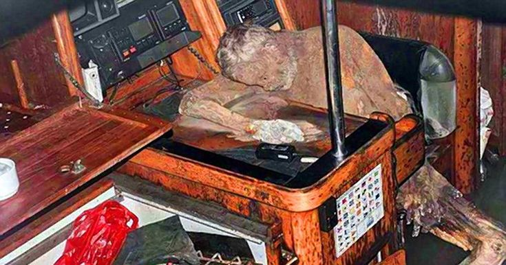 The mummified body of a German man was found on an abandoned yacht drifting aimlessly in the Philippine Sea, police said Friday.